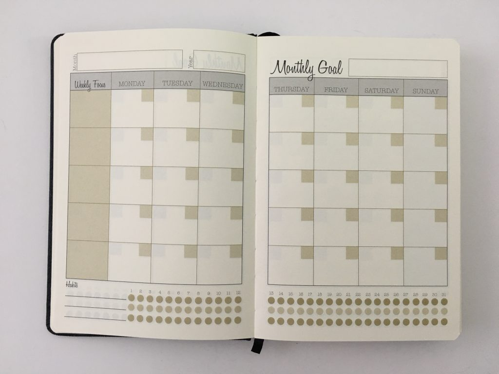 Always satisfied planner review daily weekly monthly pros and cons annual dates monday week start half hourly schedule project planner_07