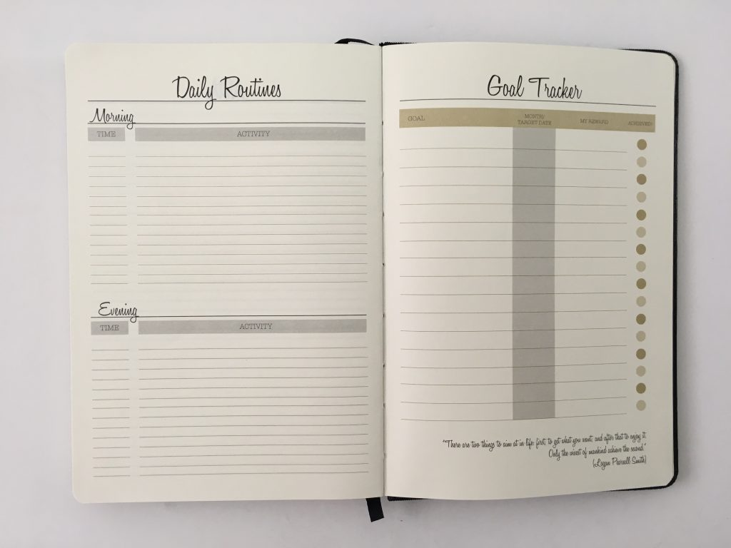 Always satisfied planner review daily weekly monthly pros and cons annual dates monday week start half hourly schedule project planner_26