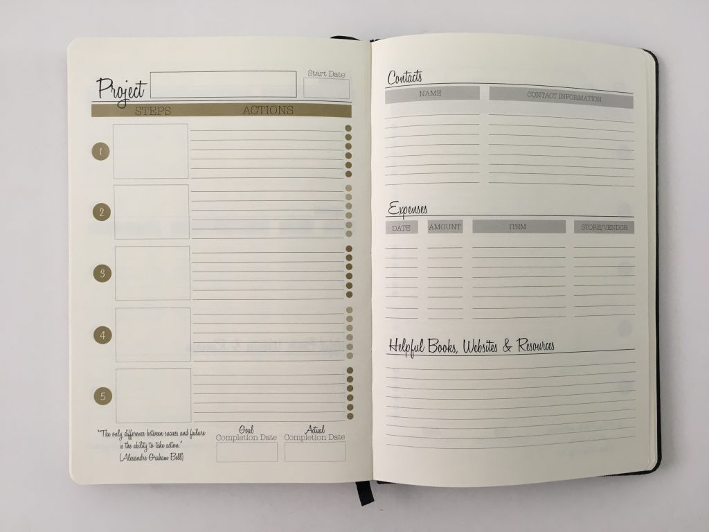 Always satisfied planner review daily weekly monthly pros and cons annual dates monday week start half hourly schedule project planner_29