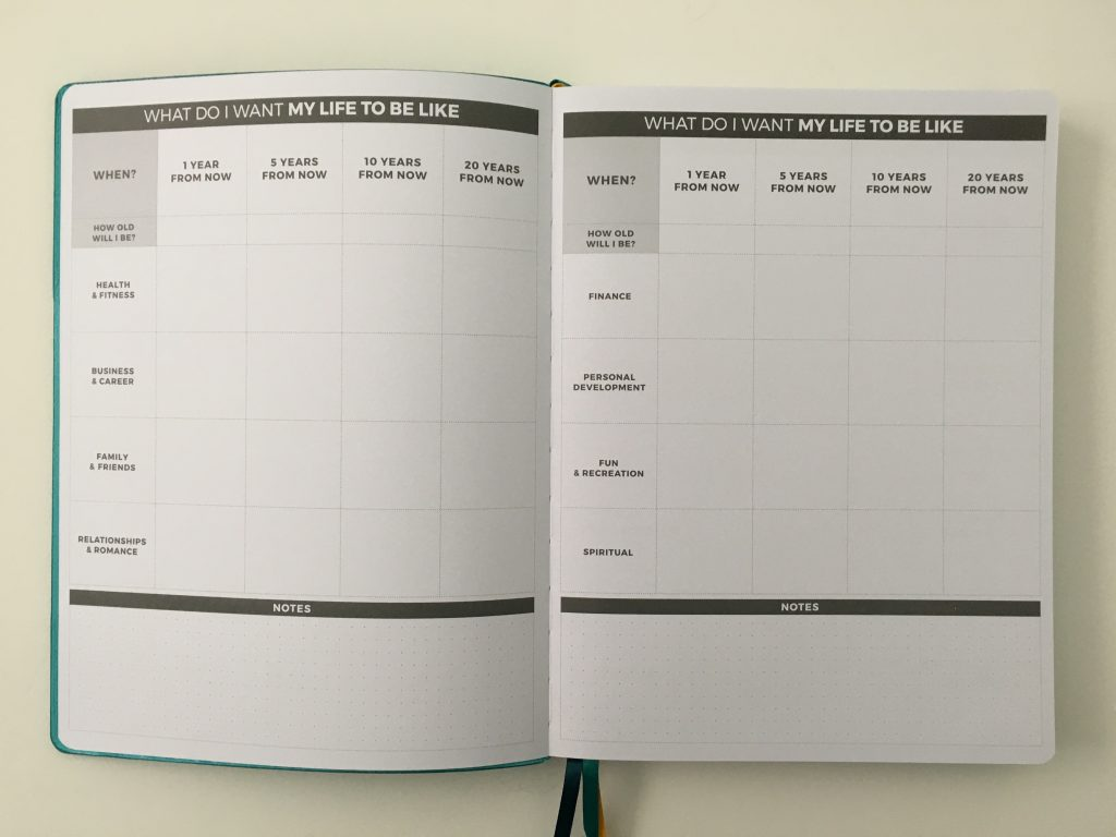 Clever fox pro weekly planner review affordable us letter page size functional layout goal planning bright white paper thick no ghosting video review_08