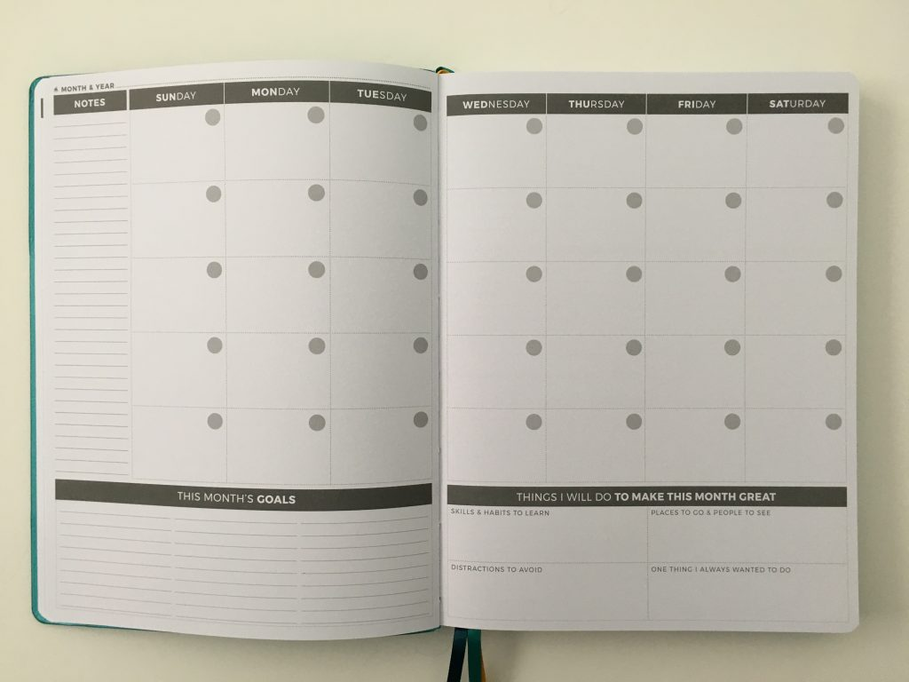 Clever fox pro weekly planner review affordable us letter page size functional layout goal planning bright white paper thick no ghosting video review_14
