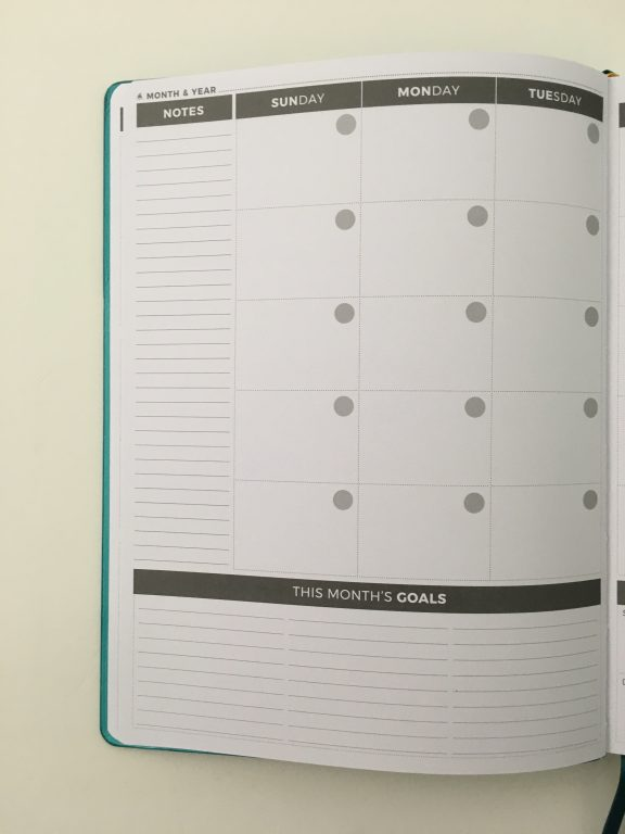 Clever fox pro weekly planner review affordable us letter page size functional layout goal planning bright white paper thick no ghosting video review_15