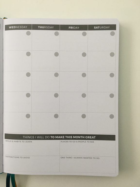 Clever fox pro weekly planner review affordable us letter page size functional layout goal planning bright white paper thick no ghosting video review_16