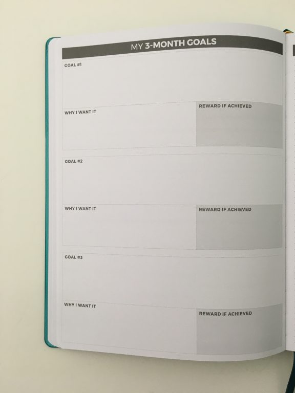 Clever fox pro weekly planner review affordable us letter page size functional layout goal planning bright white paper thick no ghosting video review_21
