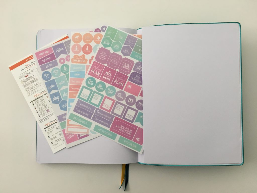 Clever fox pro weekly planner review affordable us letter page size functional layout goal planning bright white paper thick no ghosting video review_29