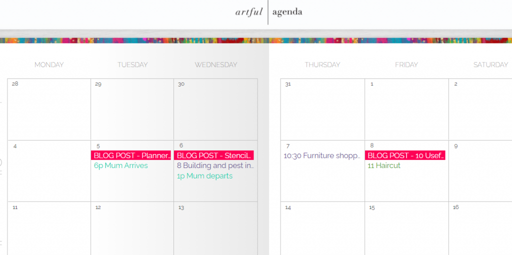artful agenda digital planner review better than goodnotes monthly calendar weekly vertical daily and lists