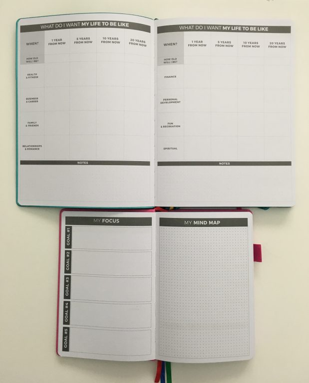clever fox planner pro and weekly comparison monday week start dashboard layout to do list habit tracker functional layout lined goals mind map