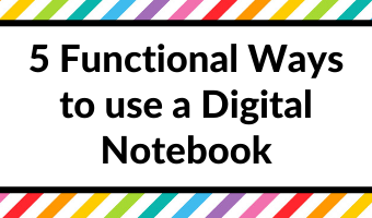 how to use a digital notebook functional planning tips inspiration ideas pros and cons recipe renovation travel planning apple pencil ipad all about planners