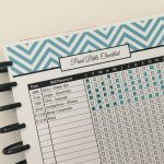 10 Useful printables to add to your planner or bullet journal
