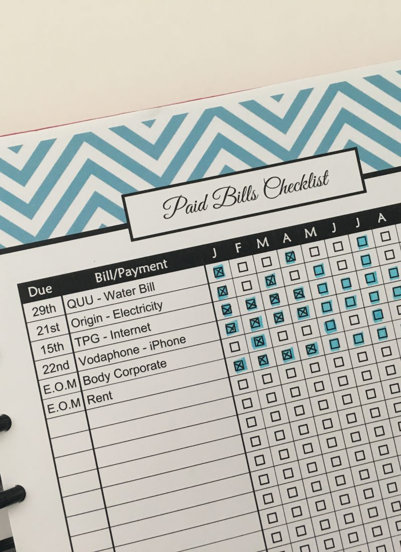 paid bills checklist tracker useful printables to add to your planner free printable budgeting all about planners