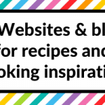 50 Websites and Blogs for recipes and cooking inspiration (save time meal planning!)