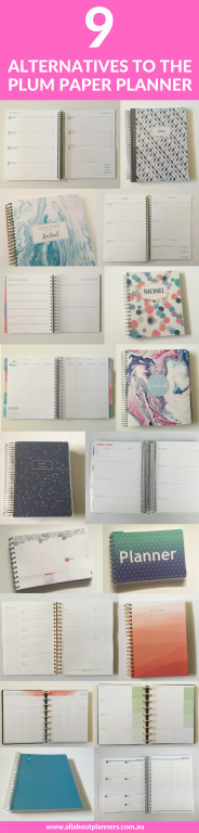 9 alternatives to the plum paper planner weekly monthly daily recommendations dupes cheaper price custom planner cover horizontal weekly layout all about planners