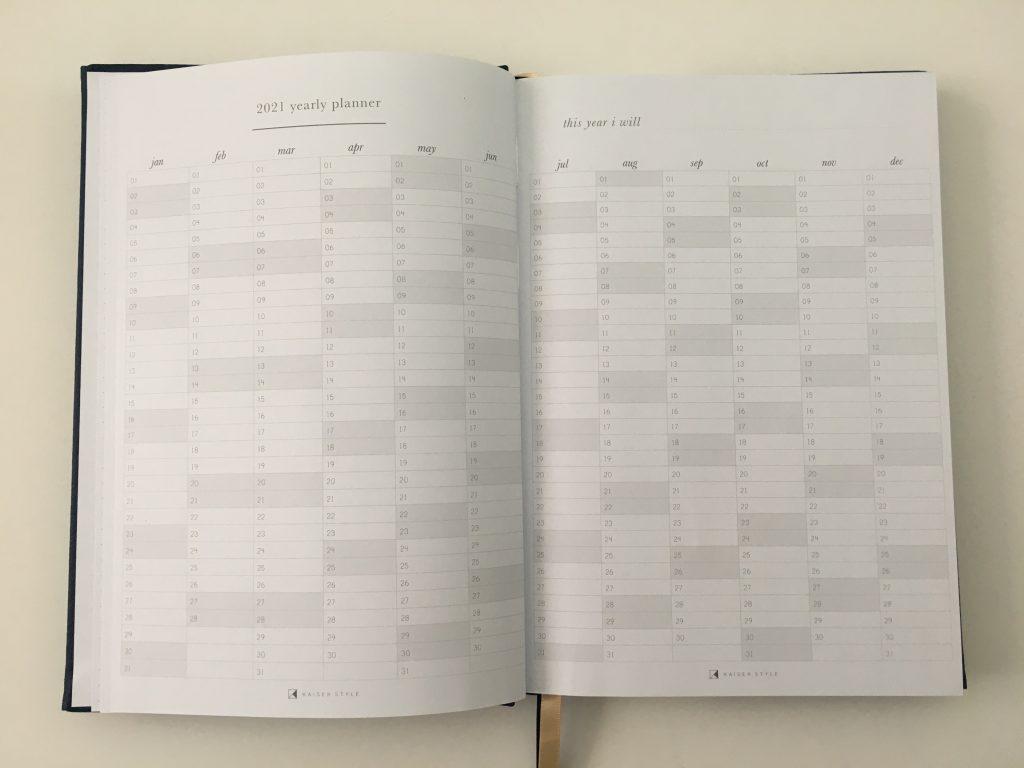 Kaisercraft weekly planner review pros and cons monday week start horizontal video pen testing australian planner brand_08