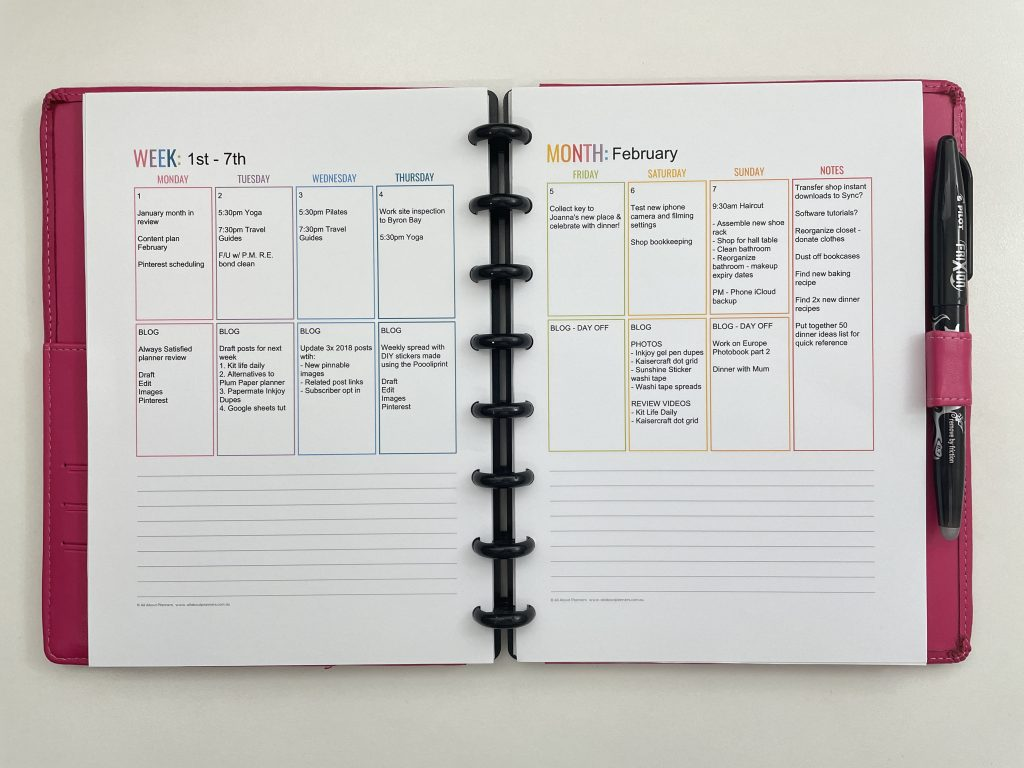 editable printable weekly planner resize to a5 which is faster plan digitally or on paper pros and cons comparison