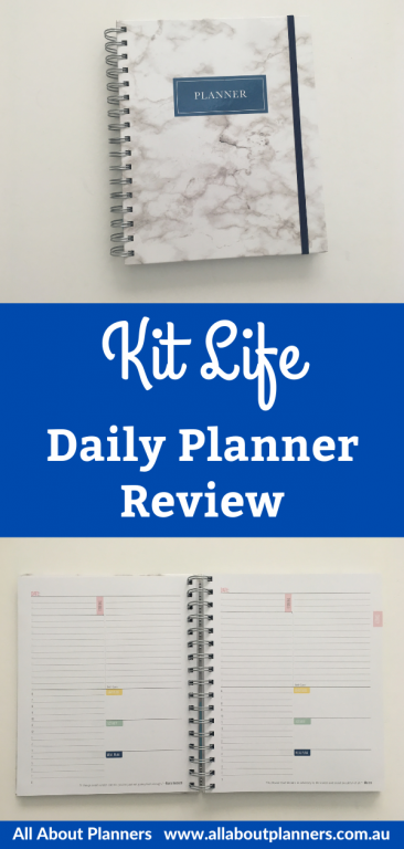 kit life daily planner review undated day to a page schedule from 6am to 8pm checklist pastel 2 page monthly calendar planning