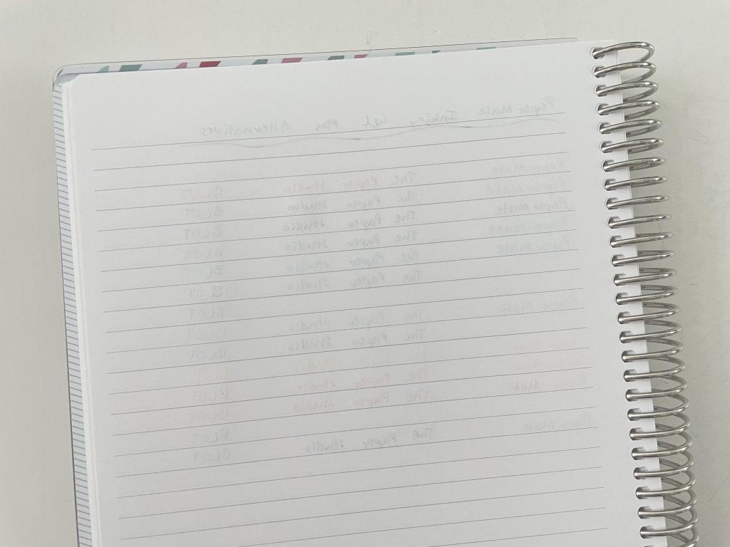 papermate_inkjoy_gel_versus_the_paper_studio_and_BLOT_gel_pens_ghosting_bleed_through_pen_testing_plum_paper