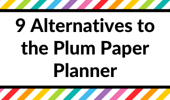 plum paper alternatives similar style colors paper quality cheaper horizontal vertical hourly custom cover all about planners recommendations