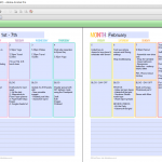 How long does it take to plan the week using an editable printable planner?