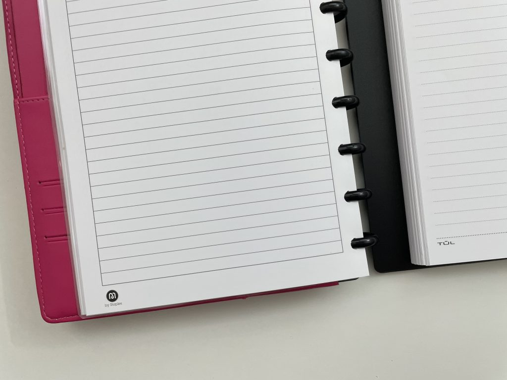 arc versus the tul discbound notebook comparison bright white paper which is better pros and cons pen testing