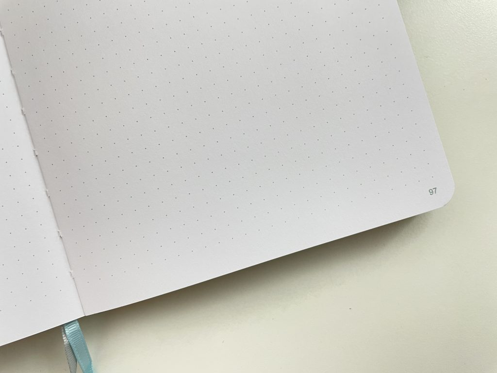 australian bujo notebook 160 gsm thick bright white paper pen testing pros and cons video flipthrough