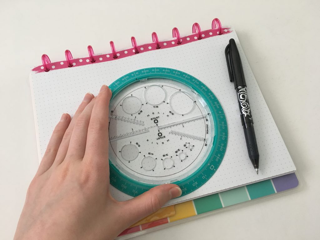 helix circle maker tool bullet journal minimalist tips creative bujo spreads all about planners