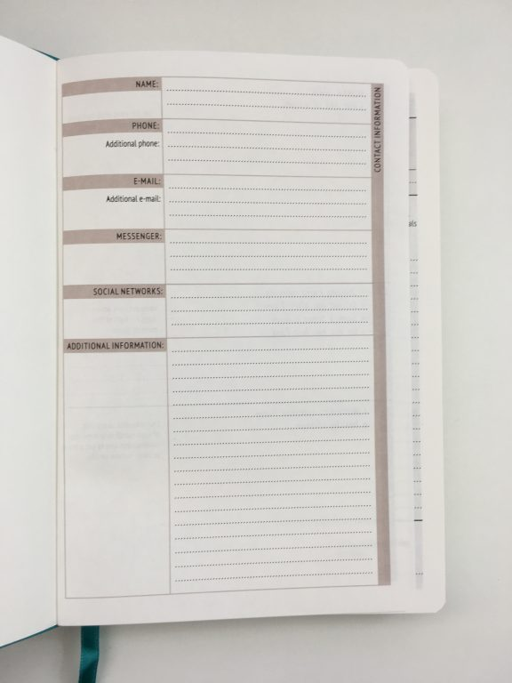 little more daily planner review undated day to a page minimalist simple sewn bound