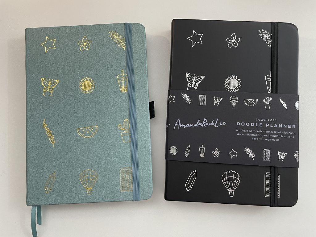 Amanda rach lee dotted notebook and doodle planner review video pen test pros and cons