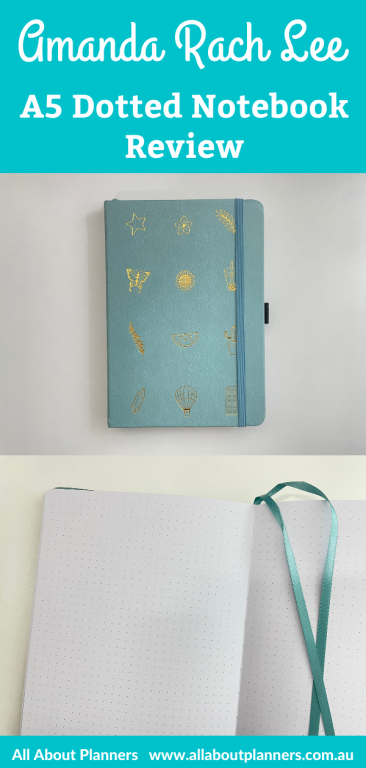Amanda rach lee dotted notebook review a5 page size 160 gsm thick paper pen testing pros and cons video