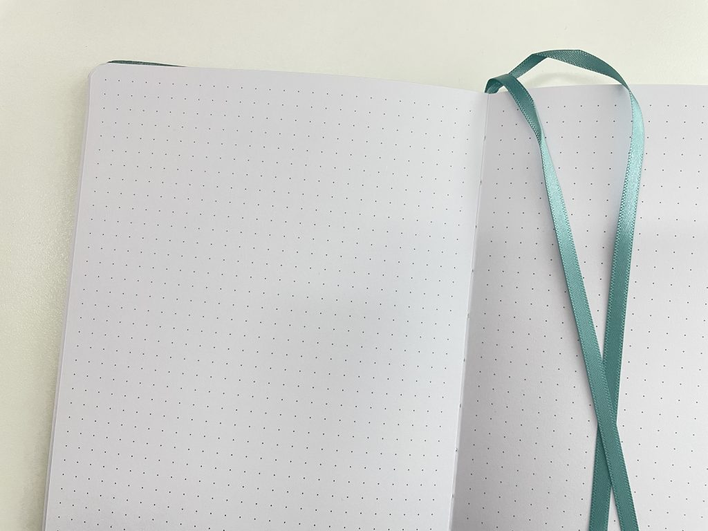 amanda rach lee dot grid notebook 5mm honest review pros and cons pen testing 160 gsm paper quality