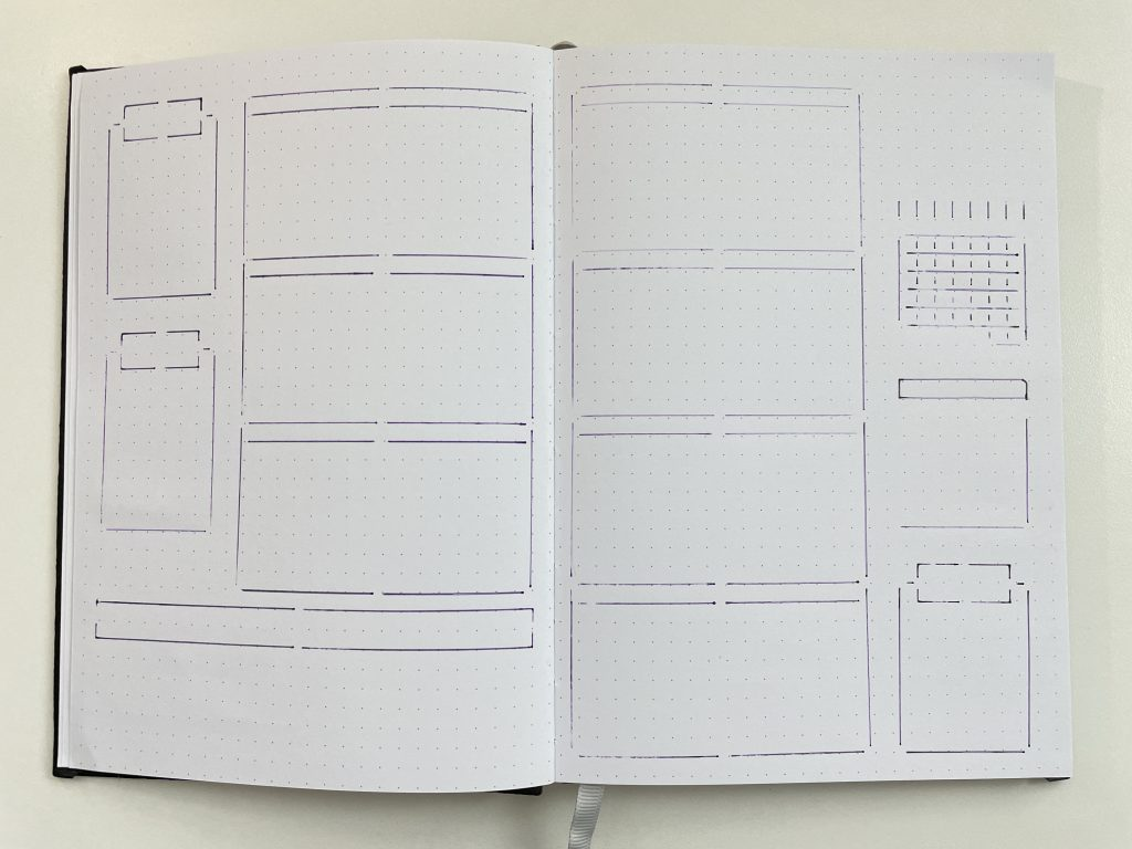 best stencils for bullet journaling bujo horizontal simple quick easy minimalist