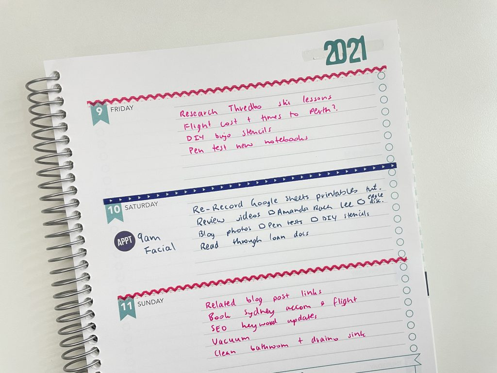 how to use an expired planner shp weekly planners carpe diem number stickers the paper studio washi tape