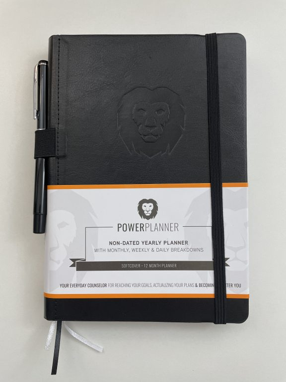 power planner review vertical hourly layout minimalist alternative to the passion planner