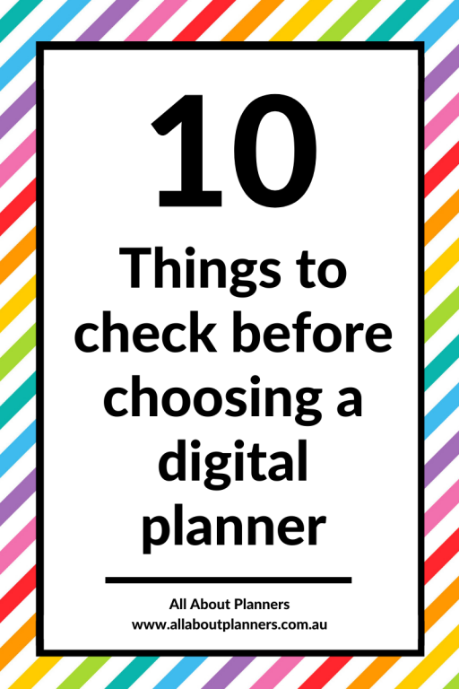 10 things to check before choosing a digital planner cost ipad trello asana which one is right for you students list apps for iphone best digital planning apps