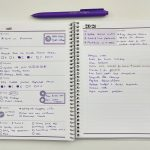 Trying out my custom Agendio A5 dashboard weekly planner