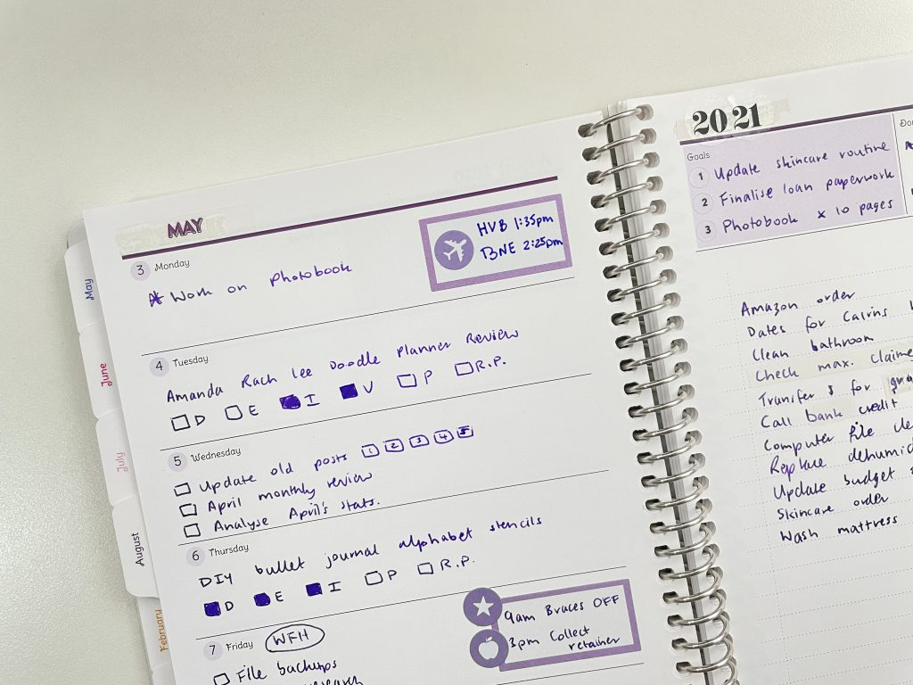 agendio custom planner review a5 page size all about planners purple theme is a custom planner worth the money