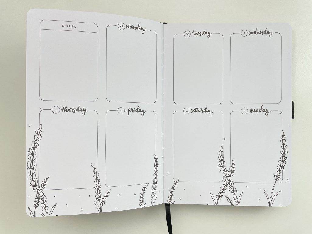 amanda rach lee doodle planner review pros and cons monday week start pen testing