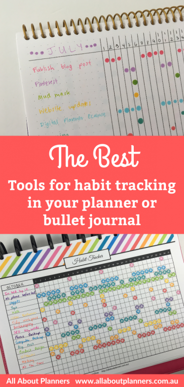 habit tracker bullet journal favorite supplies dot marker stickers newbie essentials bujo planning tips inspiration ideas page layouts all about planners