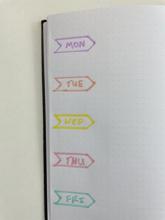 stencil highlighter tips favorite brands for planning and bullet journaling