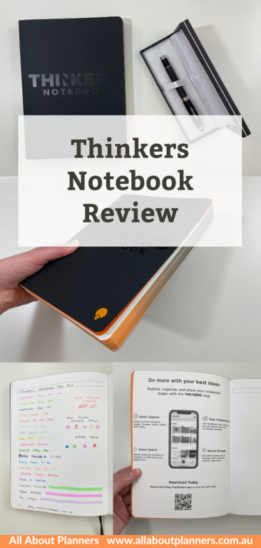 thinkers notebook review pros and cons app pen testing ghosting bleed through
