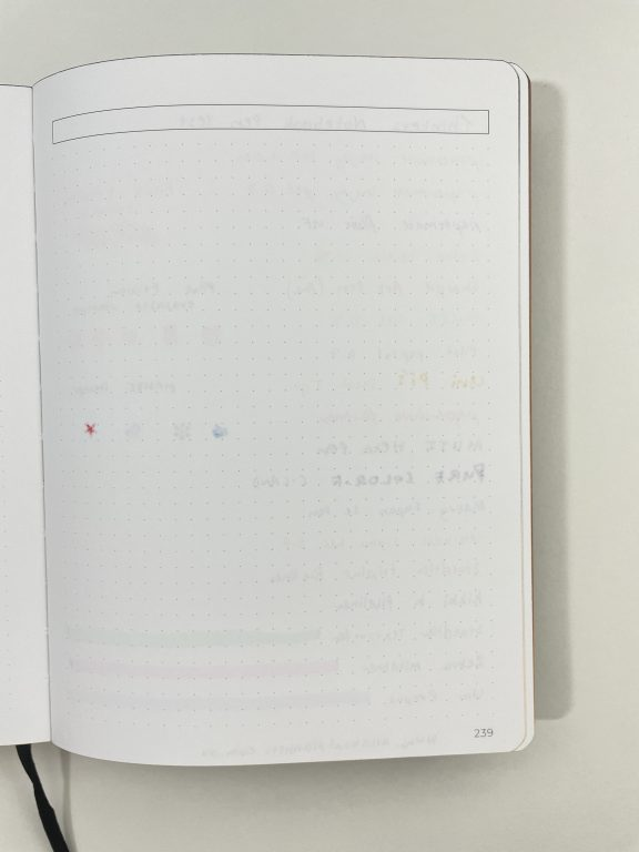 thinkers notebook softcover 5mm dot grid paper quality pros and cons pen testing 120 gsm