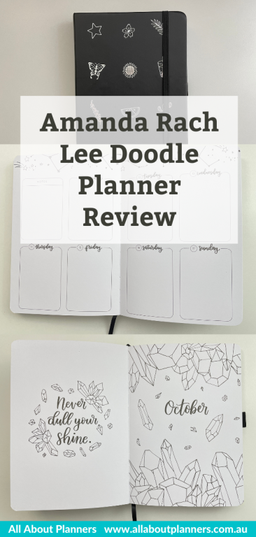 video flipthrough review of the amanda rach lee planner review pros and cons doodle planner bulet journal hybrid