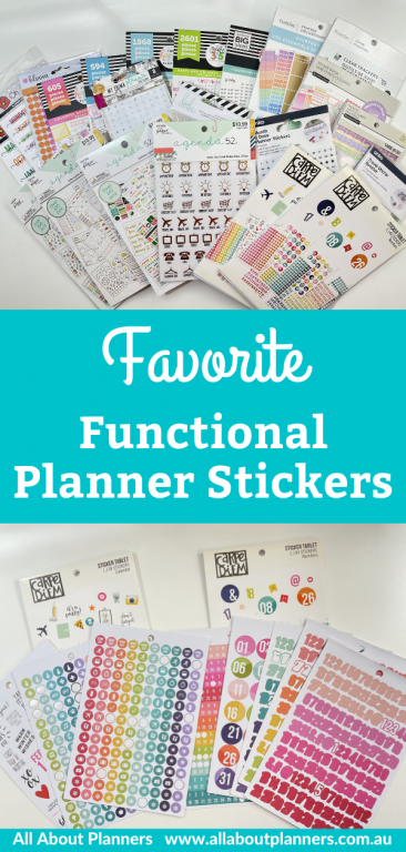 favorite functional planner sticker brands all about planners recommendations color coding happy planner paper studio numbers budgeting text labels