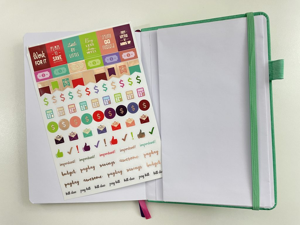 go girl budget planner review planner stickers icons functional video review pen testing affordable amazon planner