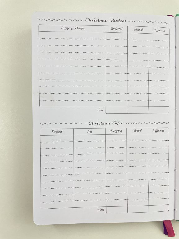 go girl budget planner review video flipthrough pros and cons christmas budget spending pen test expenses