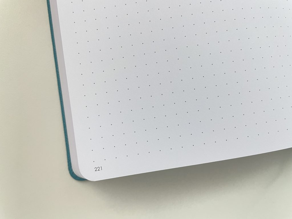 numbered dot grid pages wordsworth planner review horizontal dashboard monday week start bright white paper