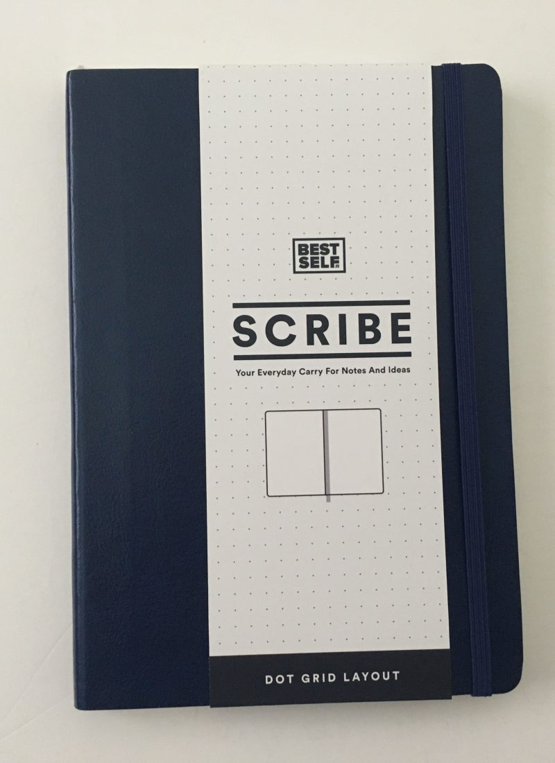 scribe dot grid notebook review pros and cons pen testing paper quality ivory paper 5mm dot grid