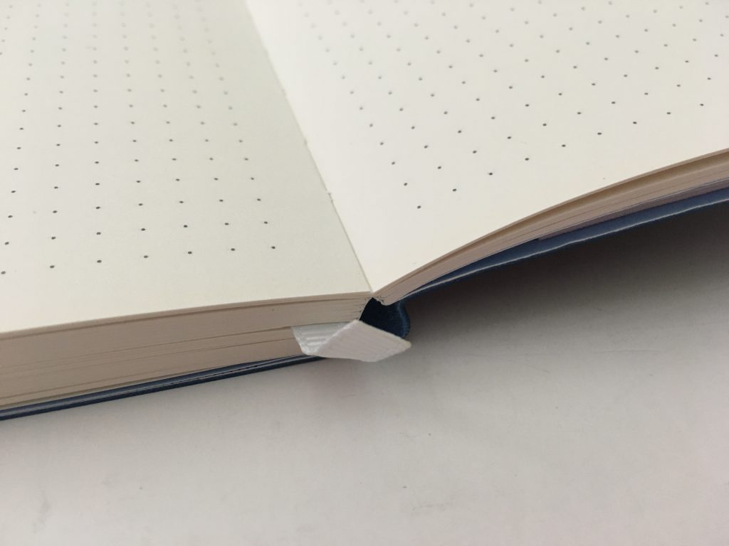 scribe dotted journal notebook review pros and cons video flipthrough pen testing ghosting ribbon bookmark perforated pages