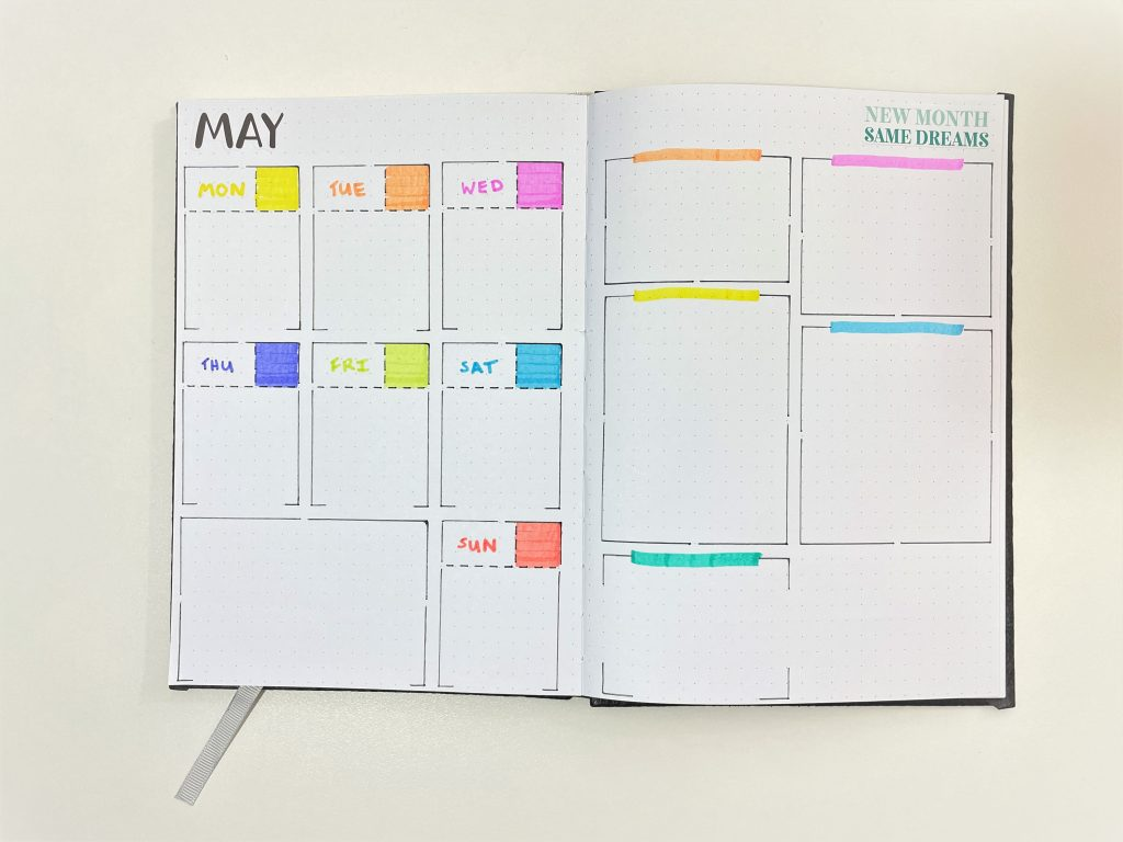 speedy stencils weekly spread review favorite planning supplies on amazon rainbow highlighters 52 planners in 52 weeks simple quick bullet journal