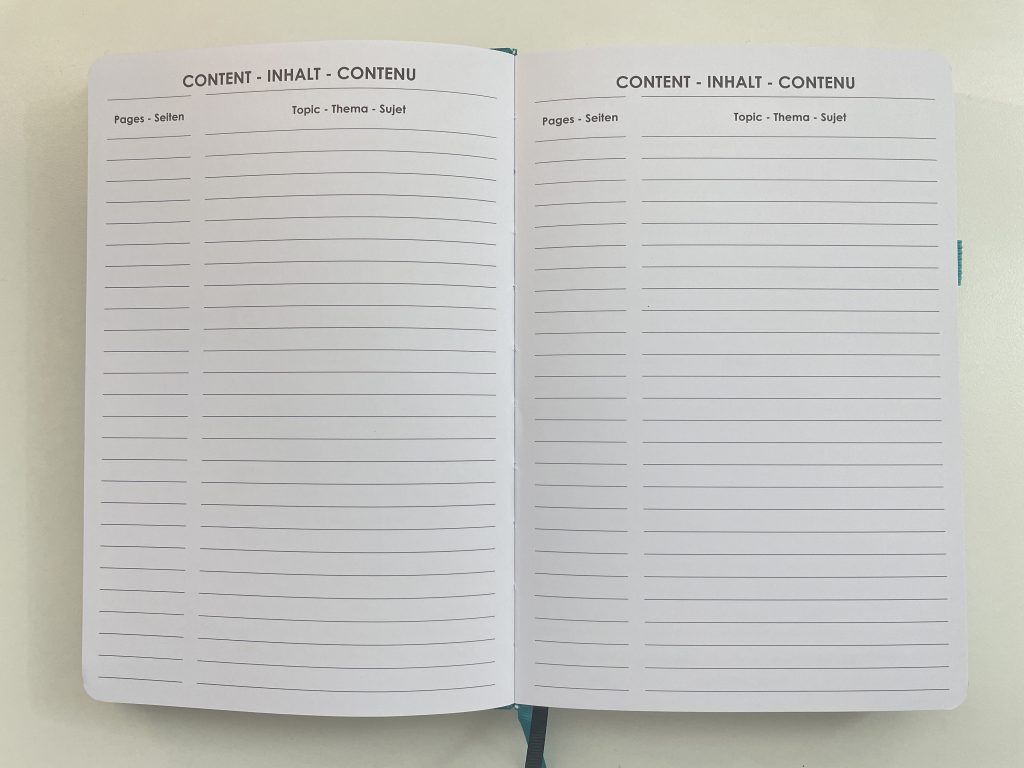 wordsworth planner review dashboard layout monday week start lined unlined dot grid contents index bullet journal numbered pages hybrid notebook