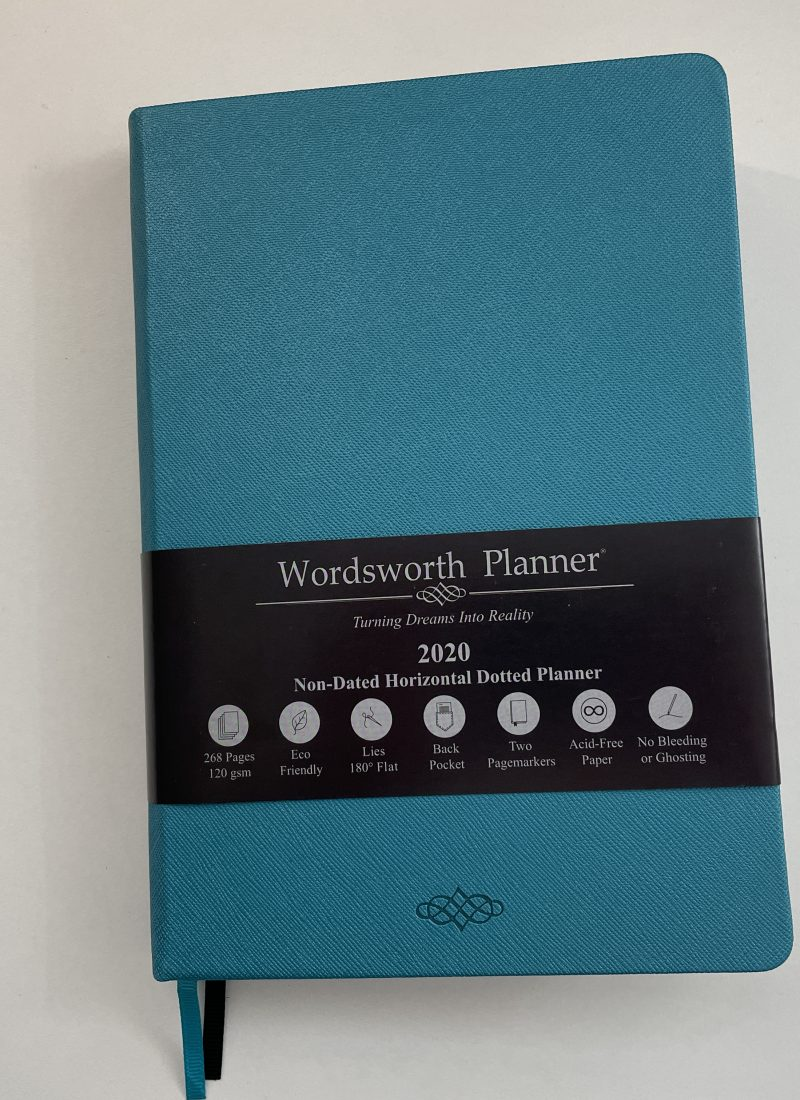 wordsworth weekly planner review pros and cons pen testing horizontal 1 page layout lined unlined dot grid minimalist